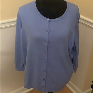 2 for $20 Talbots Periwinkle Blue Cardigan